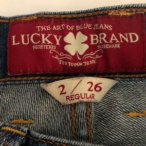 Lucky Brand Jeans - Lucky brand women jeans. Size 2/26.